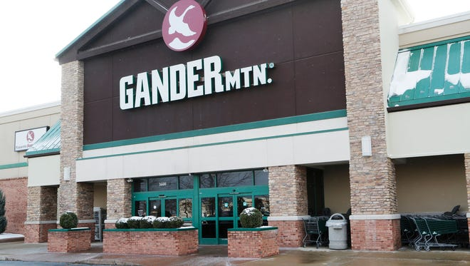 The Gander Mountain store in the Lafayette Pavilions Tuesday, March 14, 2017, in Lafayette. The outdoor retail chain has filed for bankruptcy and announced Monday it will close two Indiana locations. The Lafayette store will remain open. A few doors down from Gander Mountain, Gordmans, an apparel and home decor retailer, also announced on Monday that it has filed for bankruptcy. The chain will  close all its locations across the country, including the Lafayette store.
