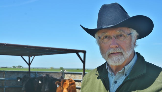 Dr. Bill Pinchak, Texas A&M AgriLife Research animal nutritionist in Vernon, discusses a new early warning system for bovine respiratory disease.