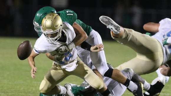 Easley High hosted Daniel High during week one for Friday night football action