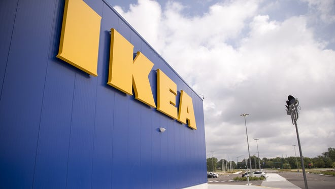 The IKEA in Fishers held a grand opening on Oct. 11, 2017.