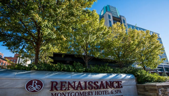 The Renaissance Hotel and Spa at the Convention Center in Montgomery, Ala. on Thursday October 26, 2017.