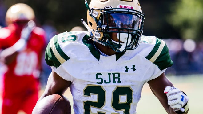 St. Joseph came back to earn a 28-21 victory over DePaul on Nov. 4.