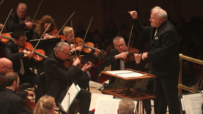 """The Detroit Symphony Orchestra received Grammy Award nominations for Best Orchestral Performance for """"Copland: Symphony No. 3; Three Latin American Sketches"""" as well as the Producer of the Year, Classical for Blanton Alspaugh, who produced the piece."""
