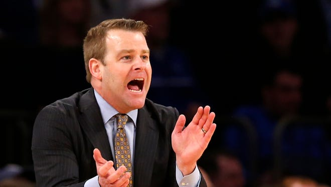 Head coach Steve Wojciechowski and Marquette will play at Indiana next season.
