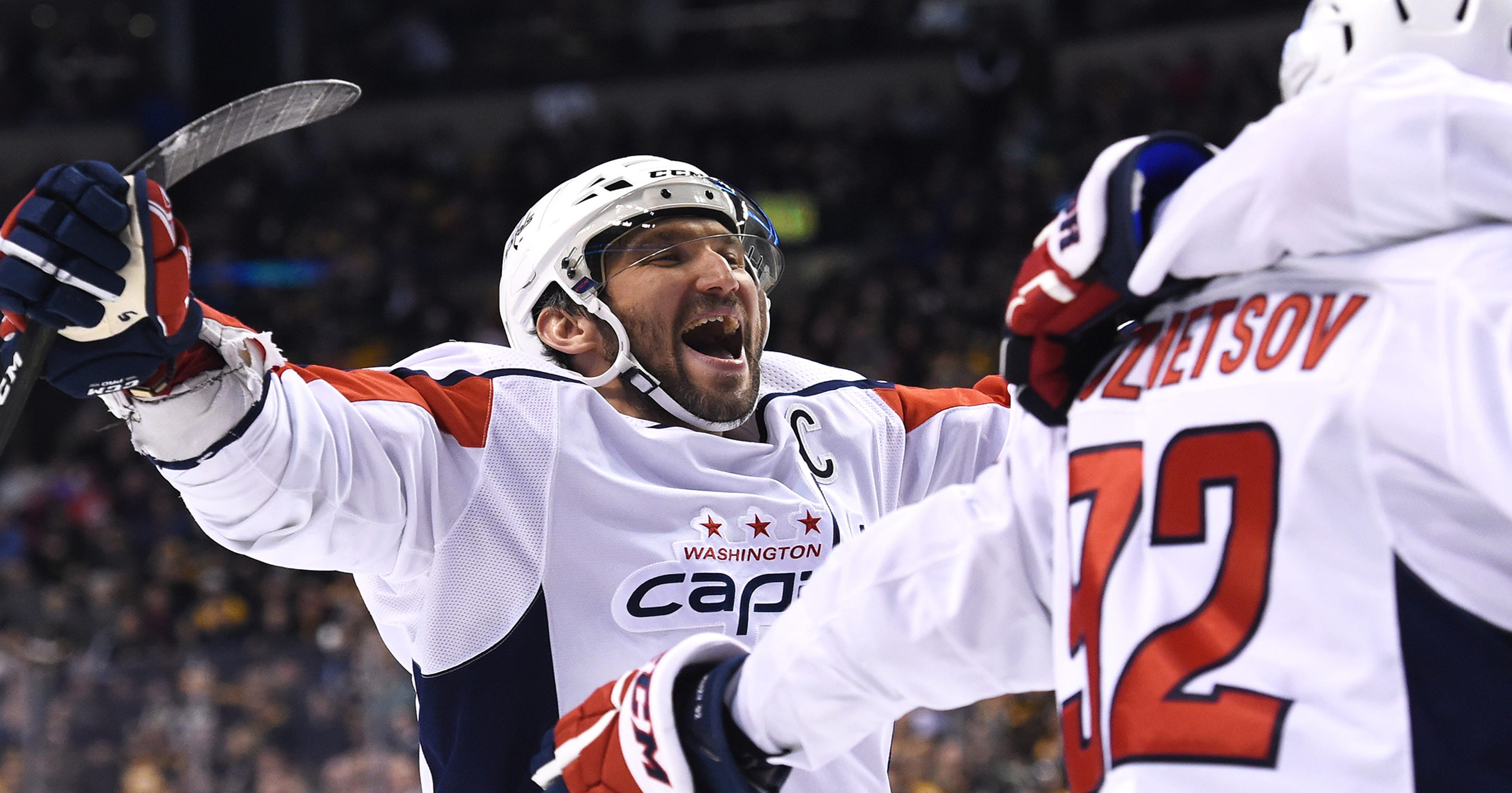 362beaf2446 Alex Ovechkin on pace for 50-goal season at 32