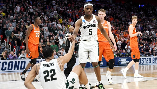 This year's Cassius Winston-led MSU basketball team might be better than last year's Miles Bridges-led squad.