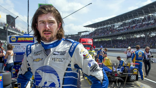 J.R. Hildebrand will race in the Indy 500 for Dreyer & Reinbold.
