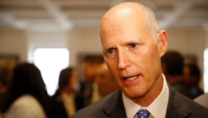 Florida Gov. Rick Scott is announcing Monday, April