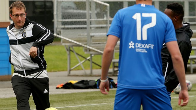 Liviu Bird was a member of the first Kitsap Pumas roster, as a practice squad goalkeeper back in 2009. Now he's in his first year as the team's head coach.