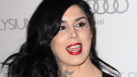 "Kat Von D said on Instagram she plans to raise a ""vegan"