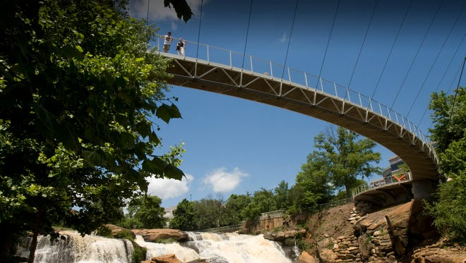 Falls Park has been named one of the top 10 parks in the country.