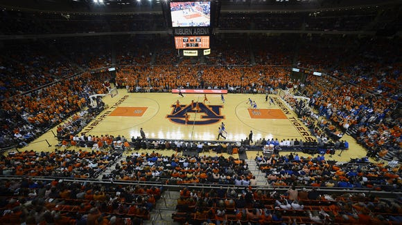 Auburn has sold out its men's basketball season ticket