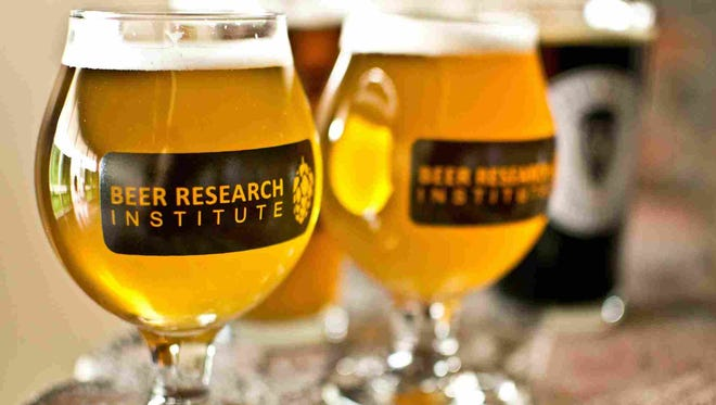 Beer logo of the Beer Research Institute in Mesa.