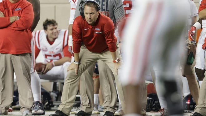 Ole Miss coach Hugh Freeze has had to combat negative recruiting during this recruiting cycle.