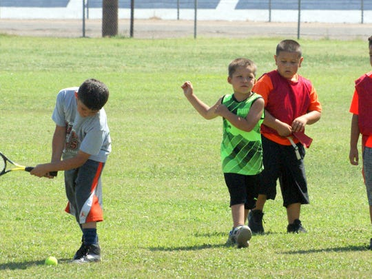 At the peak of the Summer Youth Recreation program,