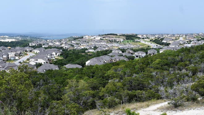 The view from this tract off Baldovino Skyway in Lakeway's Highlands community overlooks an area that the City Council approved to annex during its Monday meeting.