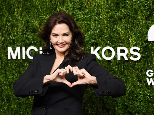 Lynda Carter attends God's Love We Deliver, Golden Heart Awards at Spring Studios on Tuesday, in New York. Dimitrios Kambouris, Getty Images for Michael Kors