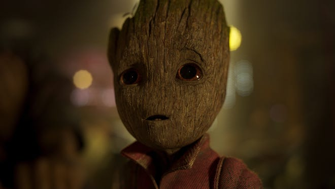 Vin Diesel voices the adorable Baby Groot in 'Guardians of the Galaxy Vol. 2.'