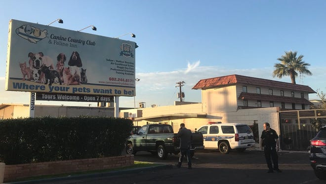 A woman was fatally mauled Dec. 20, 2017, at Canine Country Club and Feline Inn in Phoenix.