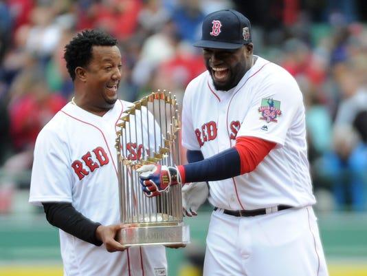 USP MLB: TORONTO BLUE JAYS AT BOSTON RED SOX S BBA USA MA