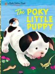 """""""The Poky Little Puppy"""" is one of Golden Books' enduring"""