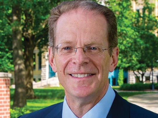 Ball State President Geoffrey S. Mearns