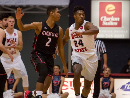 Dixie State basketball takes on Academy of Art Saturday,
