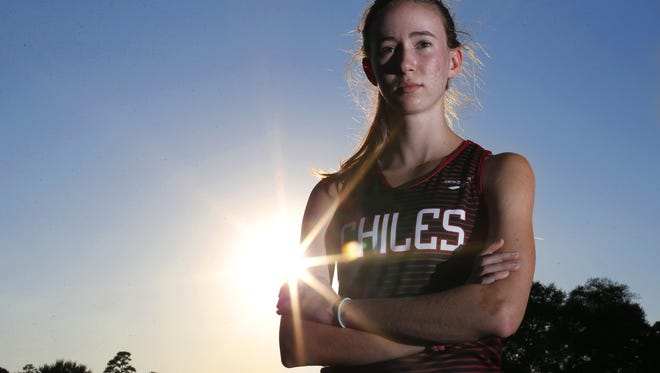 Chiles senior Emma Tucker is the 2015 All-Big Bend girls cross country Runner of the Year.