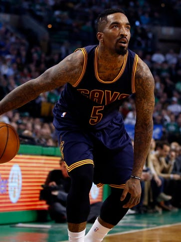 J.R. Smith will miss the first two game of the Cavaliers'