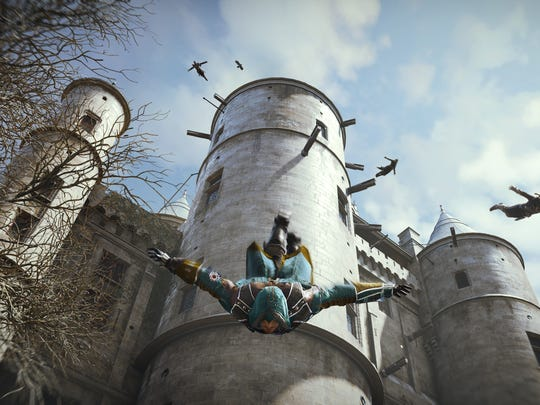 A scene from 'Assassin's Creed Unity.'