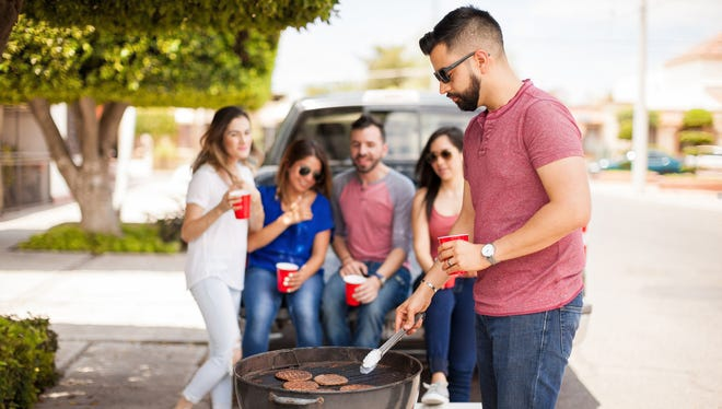 A tailgate party - usually consisting of drinking alcohol and grilling food - is a social event held on and around the open tailgate of a vehicle.