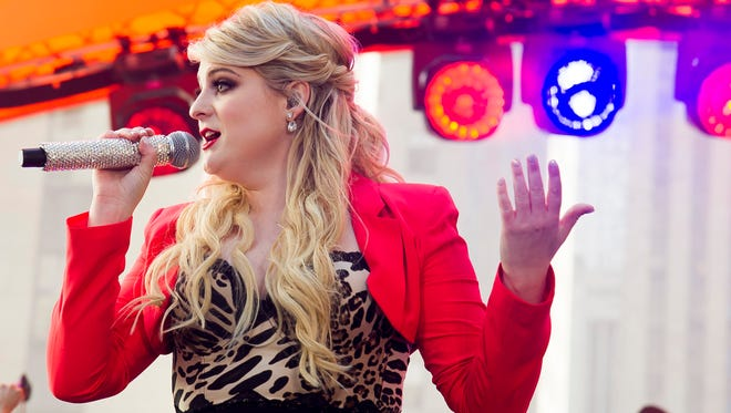 """Meghan Trainor performs on NBC's """"Today"""" show during the Toyota Summer Concert Series on Friday, May 22, 2015, in New York."""