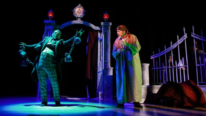 "Half Moon Theatre's 2015 production of ""A Christmas Carol."""