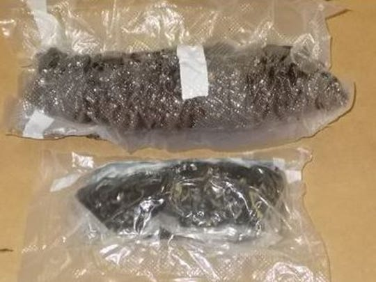 Authorities seized heroin, pills, marijuana and more at the residence.