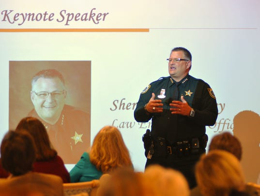 Sheriff Ivey speaks about violence and guns