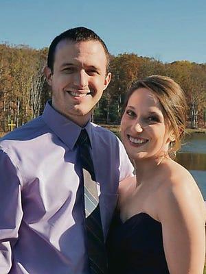 Allysa Houle and Bradley Williams