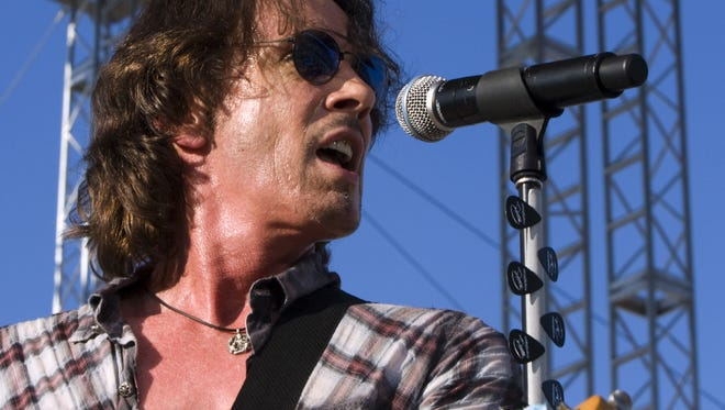 Rick Springfield performed at the 2010 Indiana State Fair.