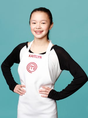 Kaitlyn, who lives in Yorktown Heights, is a contestant on the new season of 'Masterchef Junior' on Fox.