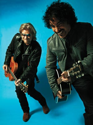Daryl Hall, left, and John Oates