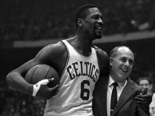 1956: Bill Russell to Boston.