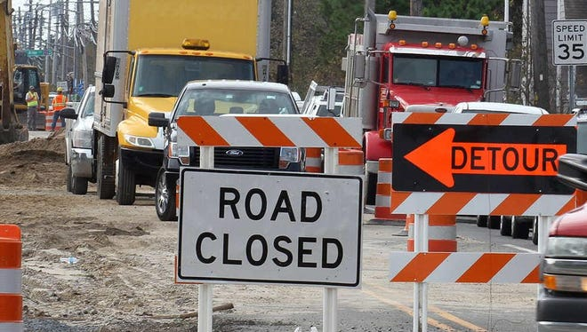 Road work is in full swing across the Des Moines area.