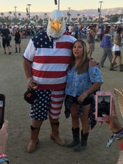 This Stagecoach fan went all out with not just American