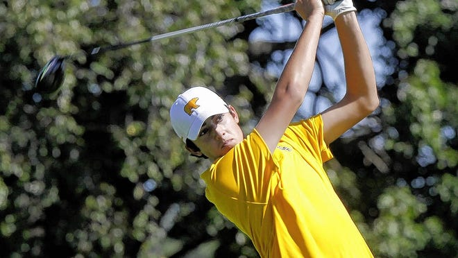 Max Sloan and the Upper Arlington boys golf team won the outright OCC-Central Division title to help the Bears earn the Ralph Young All-Sports Award, their first since the award's inaugural year of 2009-10.