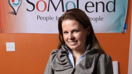 Candace Klein, founder of SoMoLend.