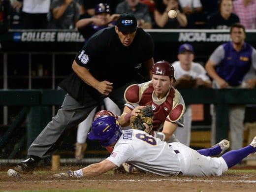 Usp Ncaa Baseball College World Series Florida St Width 520 Height 390 Fit Crop Lsu Dads Save