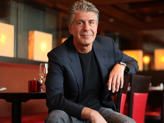 Anthony Bourdain traveled around the world to highlight