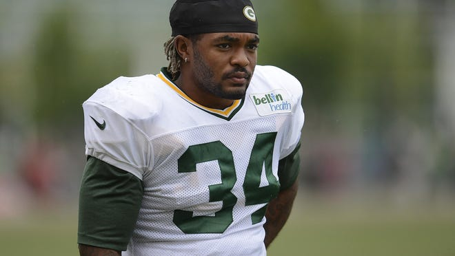 Rajion Neal hopes to make the cut as the Packers' third running back.