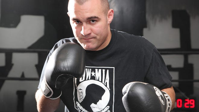 Chris Traietti of Quincy, shown here at the Cyr Farrell gym in Quincy in 2013, will promote a 12-fight boxing card, with fans, on Saturday in New Hampshire.  Gary Higgins/The Patriot Ledger