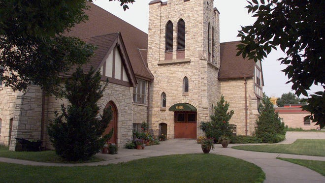The Görtz Haus Gallery in Grimes is the former St. Peter Lutheran Church. Its owners have stopped hosting weddings.