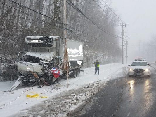 Peekskill truck crash
